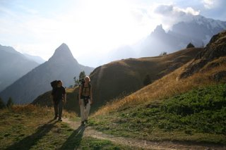 TMB 2005 - Coming up to the Rifugio Bertone
