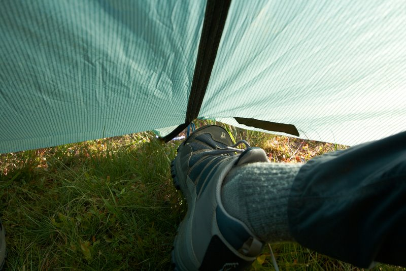 closing-the-cunning-bit-of-spectra-attached-to- & Some Tent Tips u2013 Red Yetiu0027s Blog