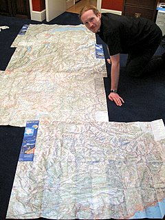 Dave with maps of GR5-small